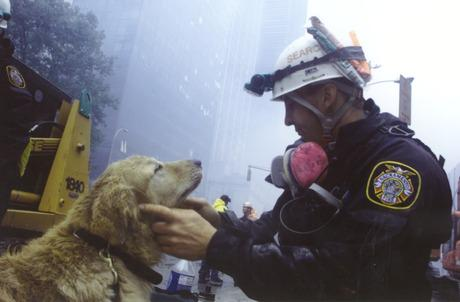 We remember the #heroes of 9/11— men, women, and rescue dogs who risked their lives to save others. #neverforget http://t.co/svkslZlOqi