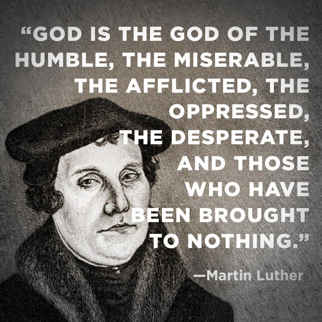 martin luther and his promise to god During this period of trial god provided luther with one of his best gifts his friendship with philip melancthon in august of 1518, when they met, luther was 34 years old and melancthon 21 melancthon had been called to the chair of greek at the university.