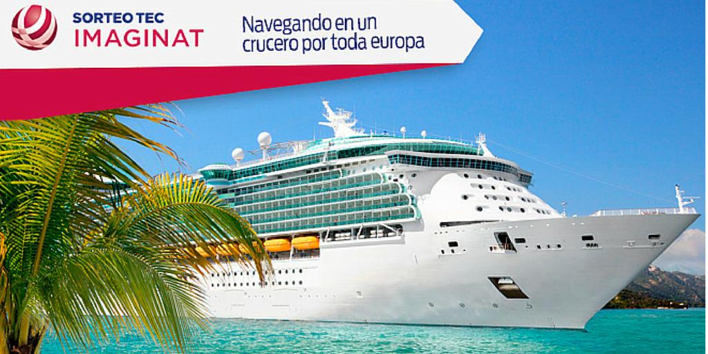 Sabías que siendo el ganador del 2ndo premio podrás cruzar el mar mediterráneo a bordo del crucero @AllureOfTheSea 😀 http://t.co/Mh6m2yi0lr