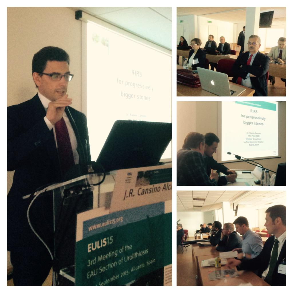 Abstracts session at 3rd EULIS in Alicante. Minimal invasive procedures in the agenda #eulis15 #kidneystone http://t.co/vhlnuMMIQm