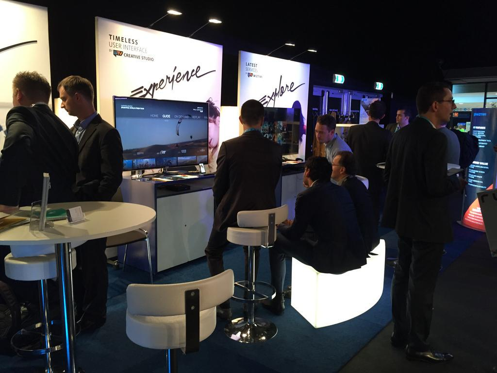 Busy day at #ibc15 booth14L01! #theuifactory