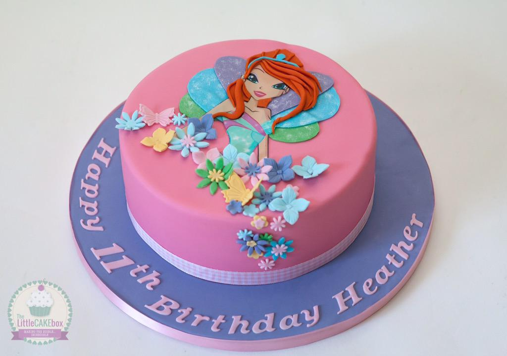 The Little Cake Box on Twitter Bloom from the Winx club cake