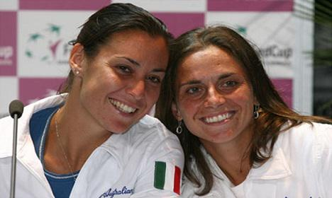 Pennetta-Vinci finalists #USOpen2015 Guys this is going to be a wonderful week end to be #Italian in New York City http://t.co/ZcdUkeDOjC