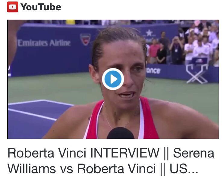 Roberta Vinci e Flavia Pennetta nella storia del tennis, la finale USOpen2015 è tutta tricolore.
