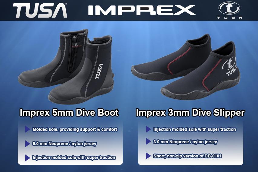 TUSA DB-0101 5MM Boots