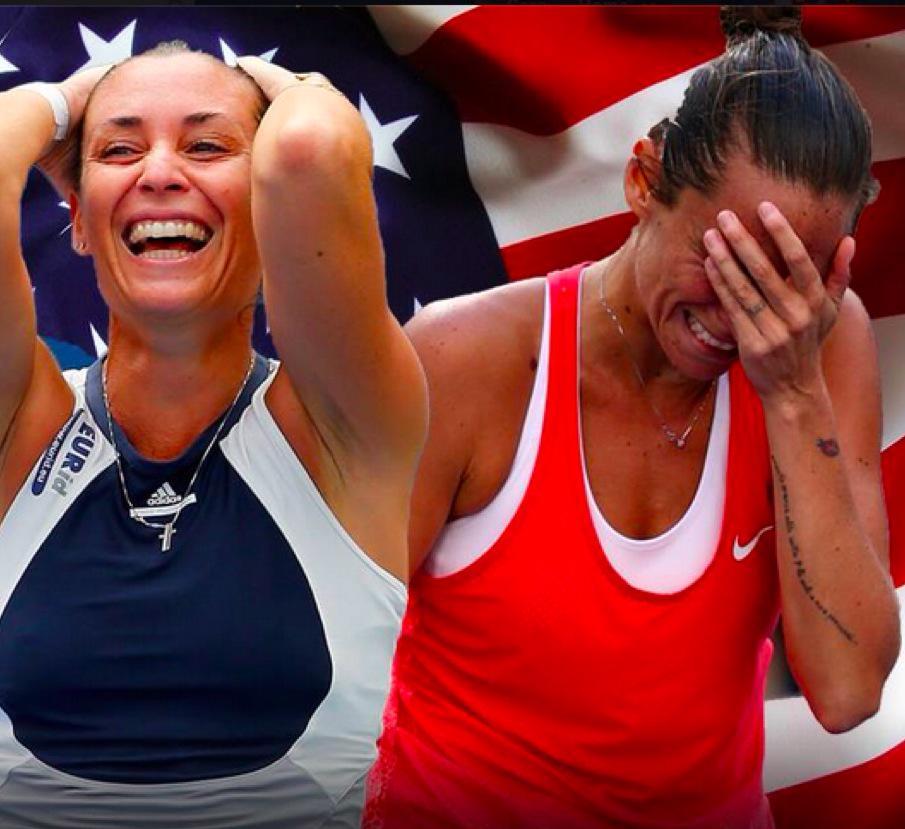 Roberta Vinci vs Flavia Pennetta Rojadirecta Streaming Tennis Gratis Diretta Video Live TV Finale US Open 2015.