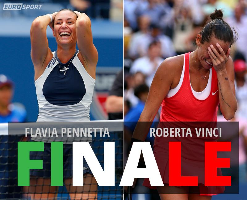 DIRETTA TENNIS: VINCI-PENNETTA, info Streaming Gratis Video Eurosport Live TV (Finale Us Open 2015)