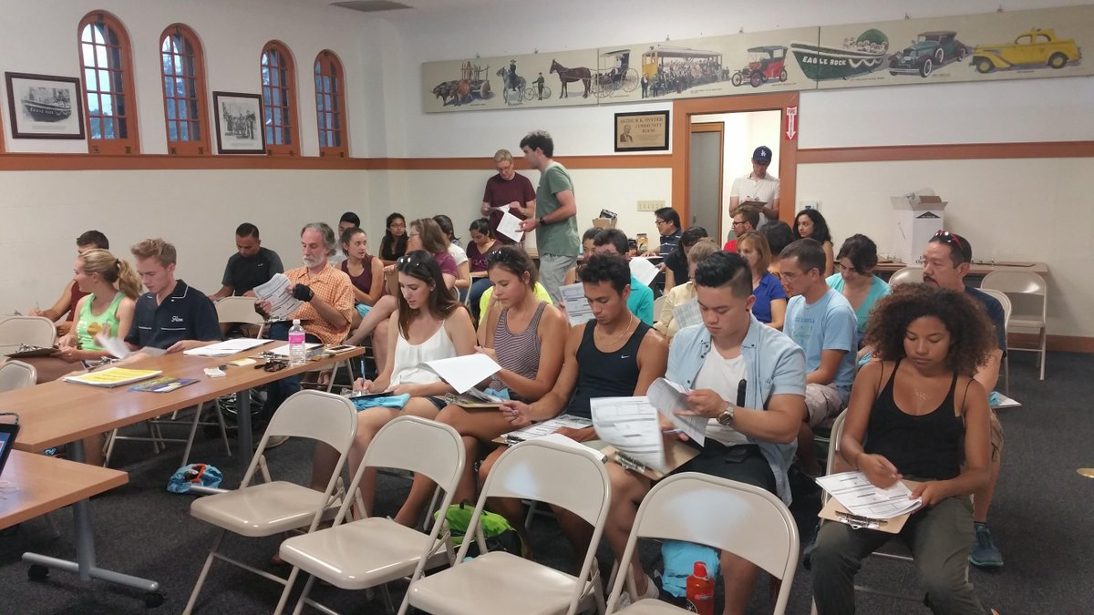 Great group at #LABikePedCount training in Eagle Rock last night! #SouthLA & #NoHo tonight, plus #DTLA next week. http://t.co/IvCHbKcCuu
