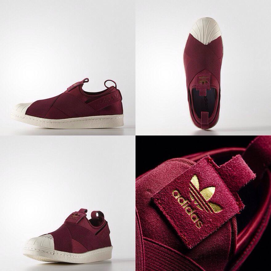 Adidas Superstar Slip On Red Adidastrainersuk Ru
