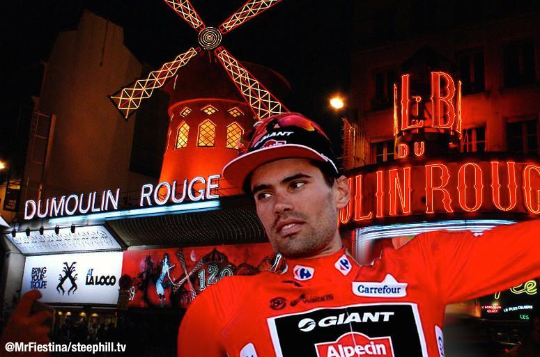 Live video starts in 3.5 hrs http://t.co/U4mNl4j1M8 @tom_dumoulin rouge for good? Thanks @MrFiestina for the banner http://t.co/h53CA8ihXc