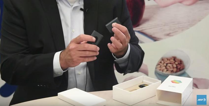 Un scanner de poche pour savoir de quoi est fait un for De quoi est fait un miroir