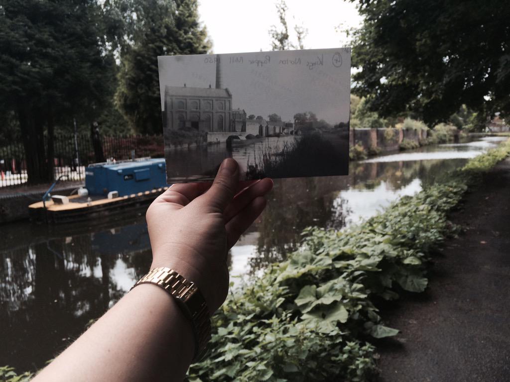 Kings Norton Paper Mill 1950 #walkingtheshroppie http://t.co/9gJxKxT1By