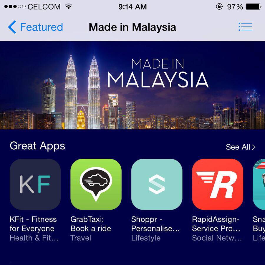 Top social apps in malaysia