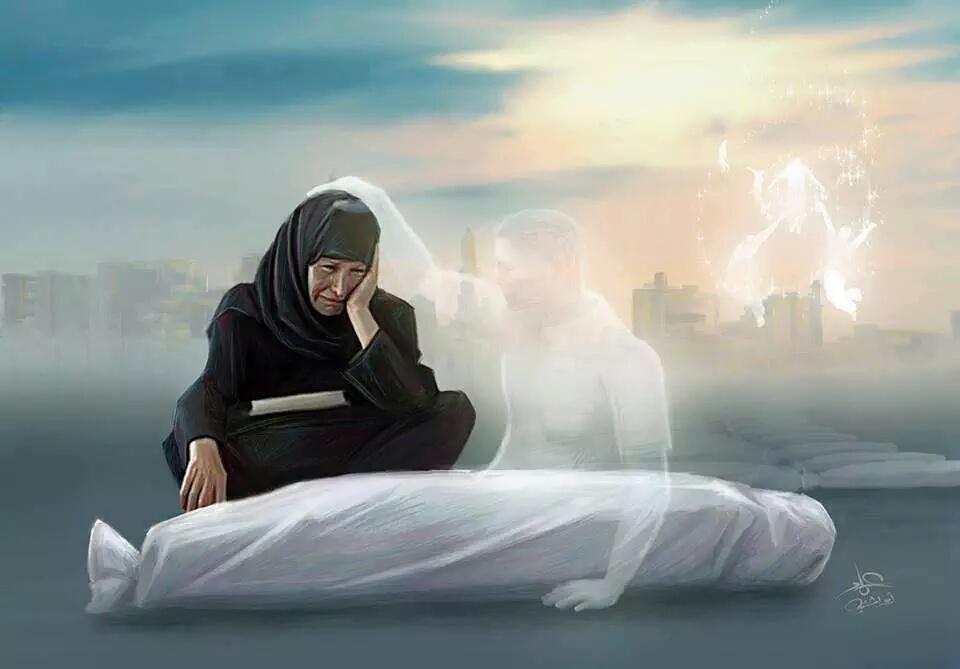Картинки про смерть с надписями мусульманские, тему