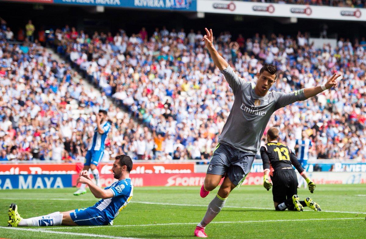 VIDEO: Cristiano Ronaldo segna 5 gol con il Real Madrid all'Espanyol