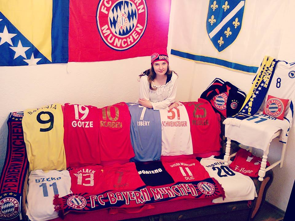 Let's take this Bavarian derby ! ♥ #FCBFCA #packmas #fcbayernselfie @f...