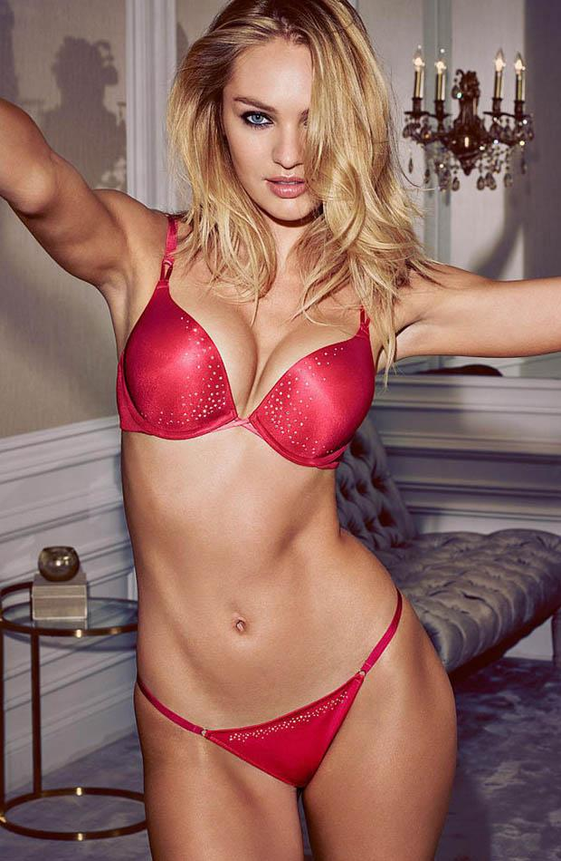 Candice swanepoel hot lingerie can