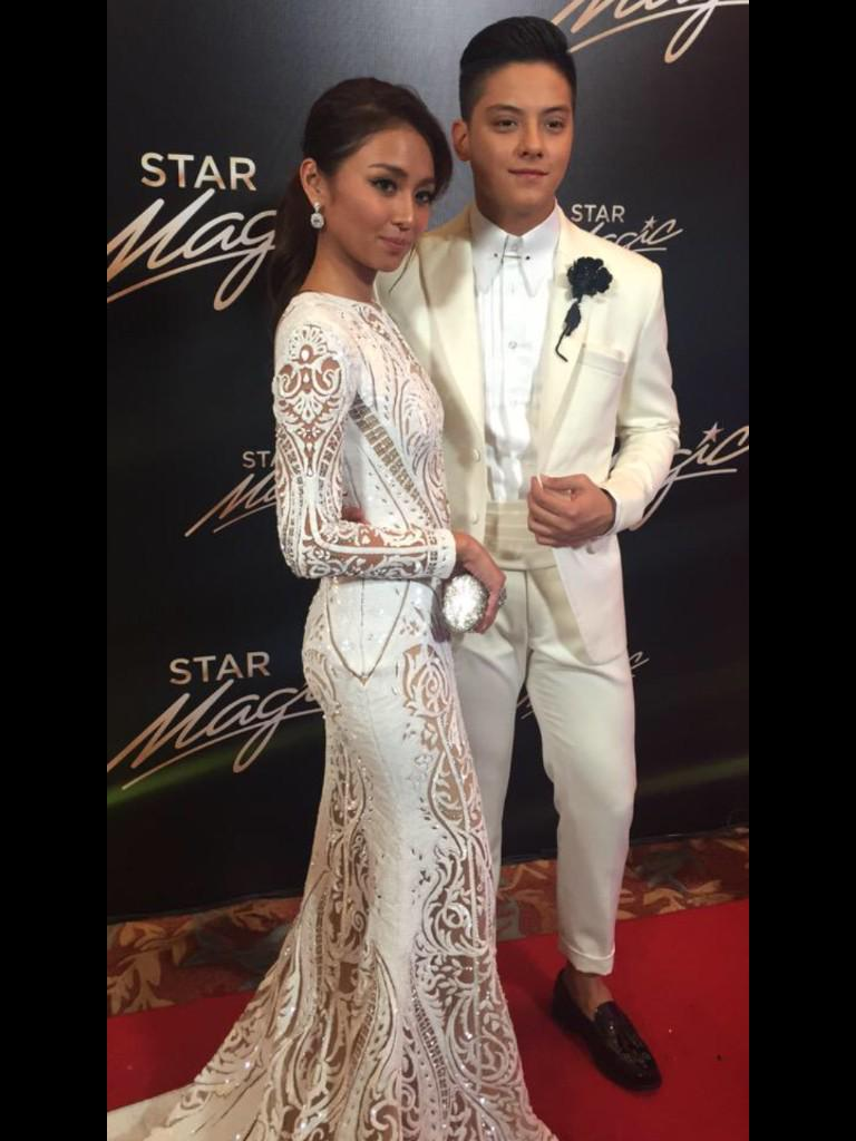 The King And Queen Of Hearts at #9thStarMagicBall. #KathNielAt9thStarMagicBall http://t.co/dA5jqDn5lW