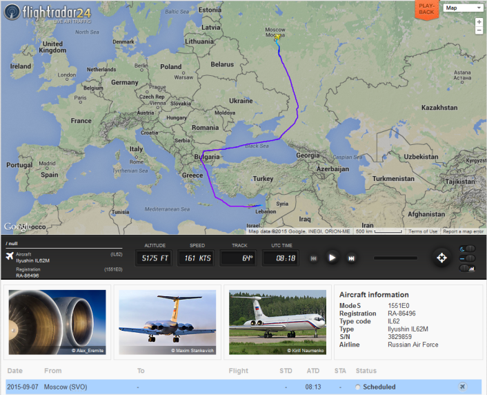Open Data : le pont aérien entre la Russie et la Syrie dévoilé par FlightRadar24 http://t.co/o13SAeJk4F http://t.co/M90Ltkto1j