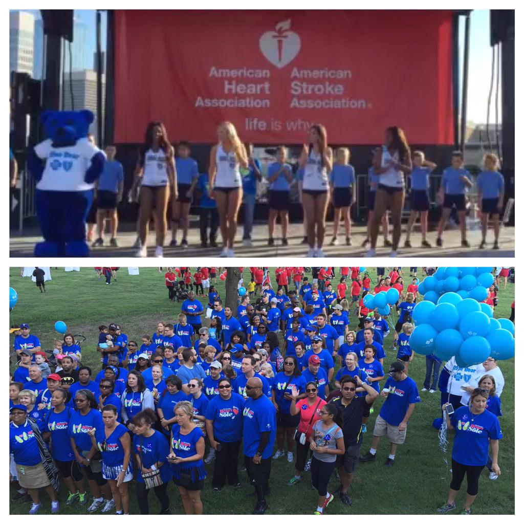 You're welcome @AHA_Dallas! Blue Bear & our crew are having a blast at #DallasHeartWalk w/ @Fritolay @oncor @7eleven http://t.co/0oYGSmapi4