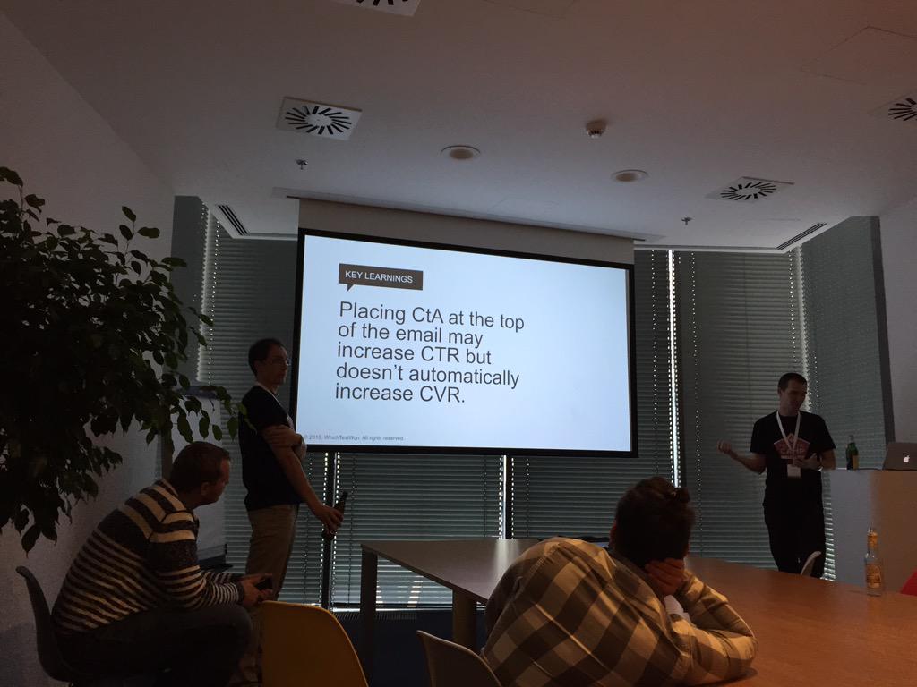 Interesting A/B test @avast_antivirus #measurecamp @MeasurecampCZ http://t.co/pJ7nzxHH32