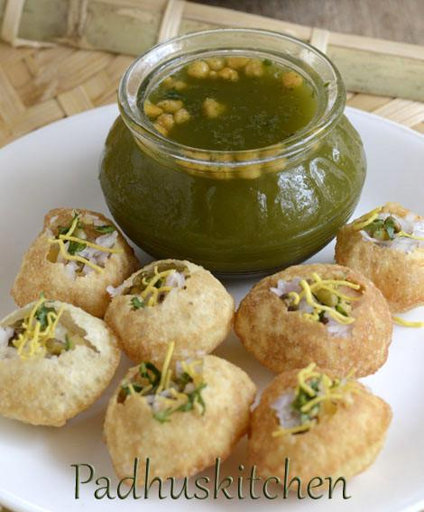 how to make golgappa in urdu