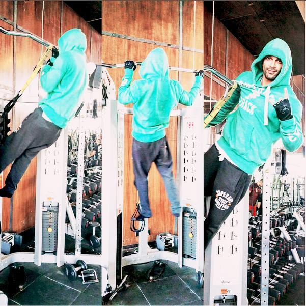Bipasha Basu And Karan Singh Grover Work Out Together!