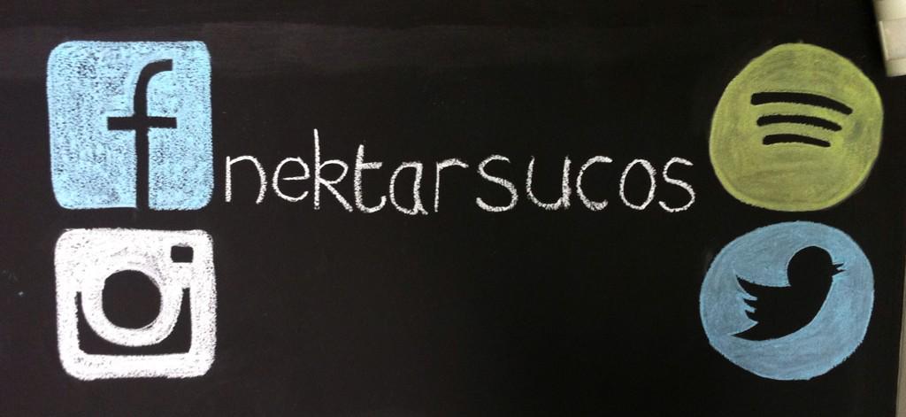 #NektarSucos now on social media: #facebook #twitter #instagram #spotify  #sucosfuncionais #almocabatel #curitibapic.twitter.com/97EnyAuKlK