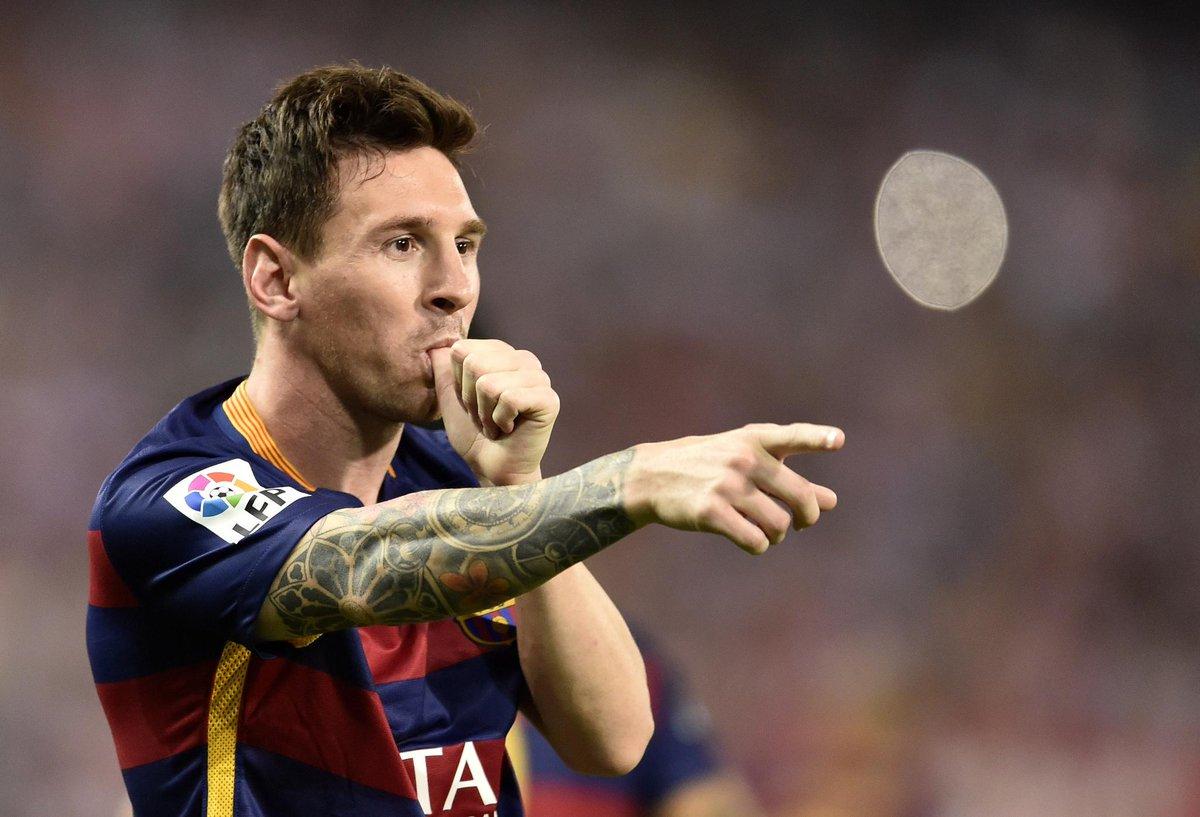 Atletico 1-2 Barça Match Report - Messi Celebrates
