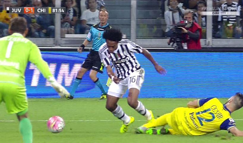 JUVENTUS-Chievo 1-1 Video: Risultato rimontato da Dybala su calcio di rigore