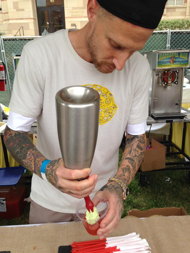Frozen tomato avocado slushie from @MVoltaggio is officially my favorite tomato dish ever @LALovesAlexs http://t.co/7c0TrVvJBK