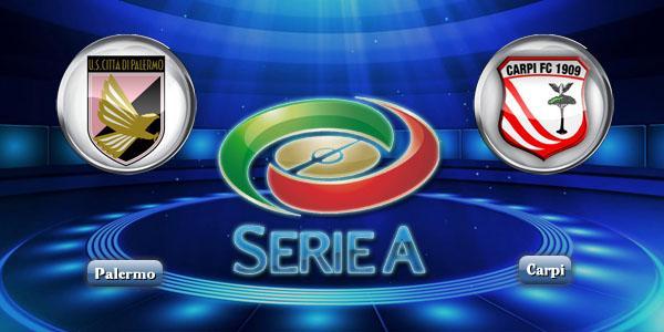 DIRETTA CALCIO Palermo-Carpi, come vedere Streaming Gratis Serie A