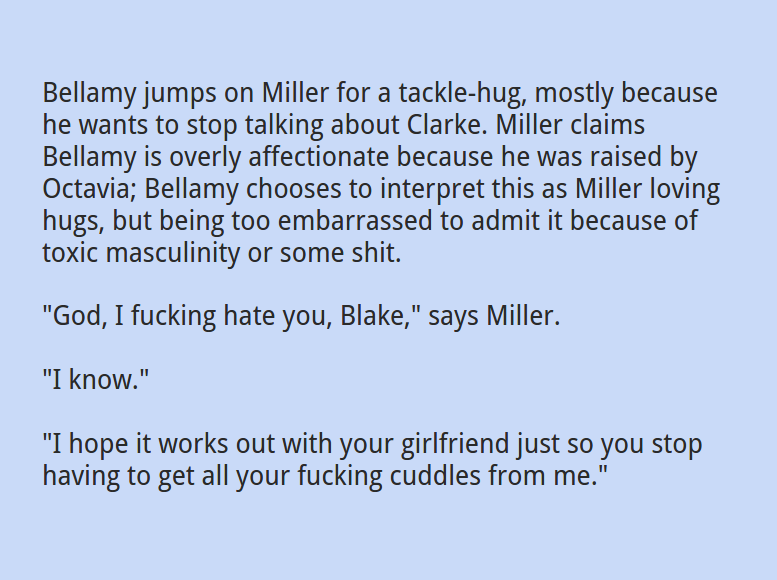 Bellarke Fanfiction