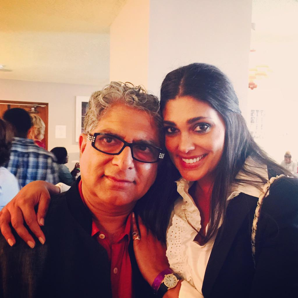RT @DeepakChopra: With my dear friend @Rachel_Roy backstage at #SuperSoulSessions http://t.co/3sv51TcfPZ