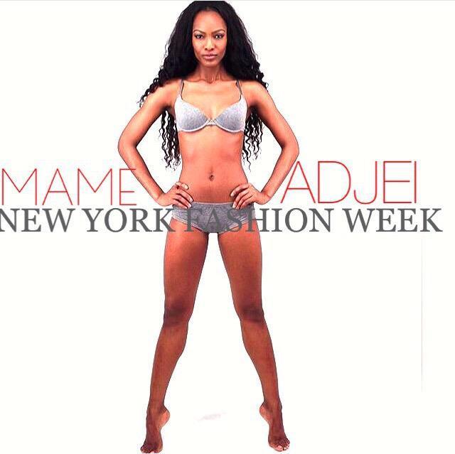 Mame Adjei  - Catch me thi twitter @MameAdjei4 nyfw,antm