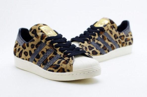 kinetics x adidas superstar 80s animal collection