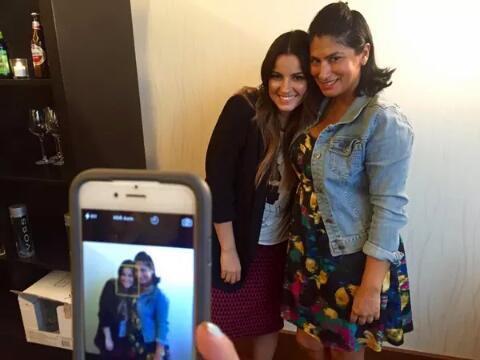 Me encanta ponerme al día contigo @MaiteOficial ! Suerte con la nueva novela @Univision #AMQLichita http://t.co/CPgpRpjZBQ