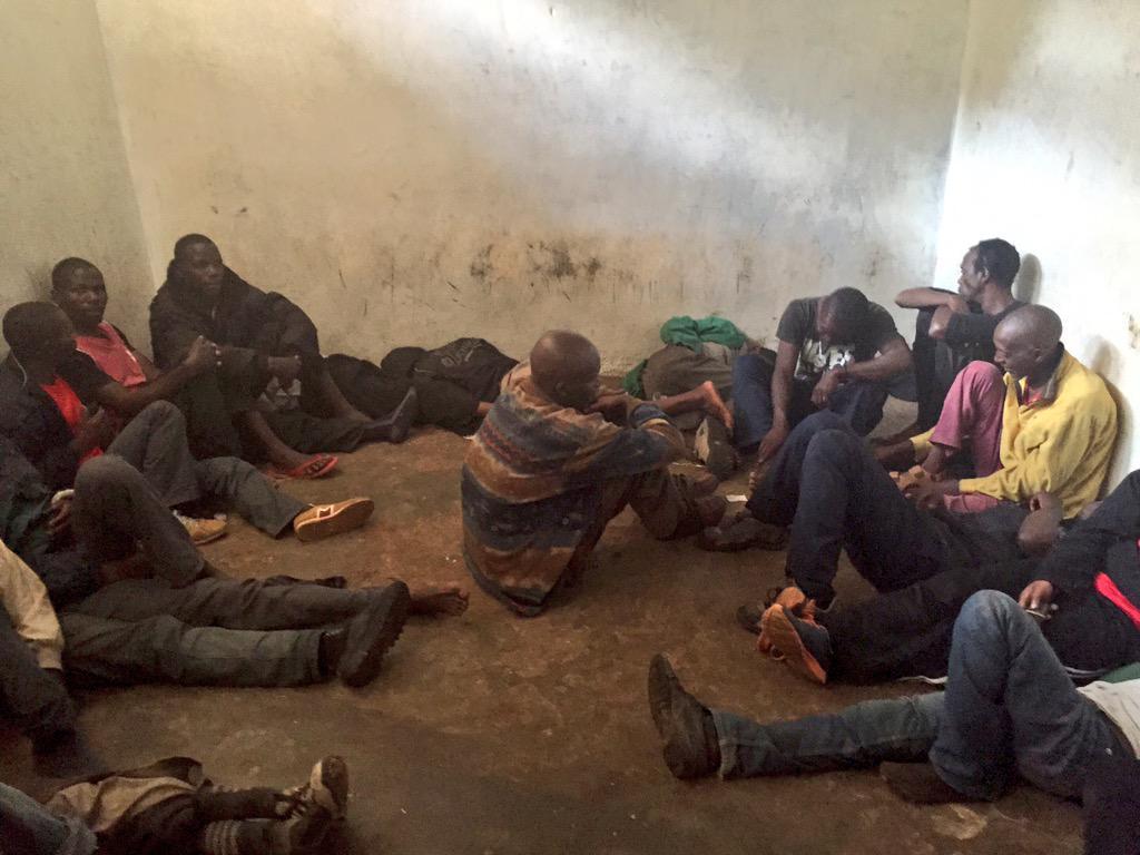 """Boniface Mwangi on Twitter: """"I'm now locked inside Parklands Police s ..."""