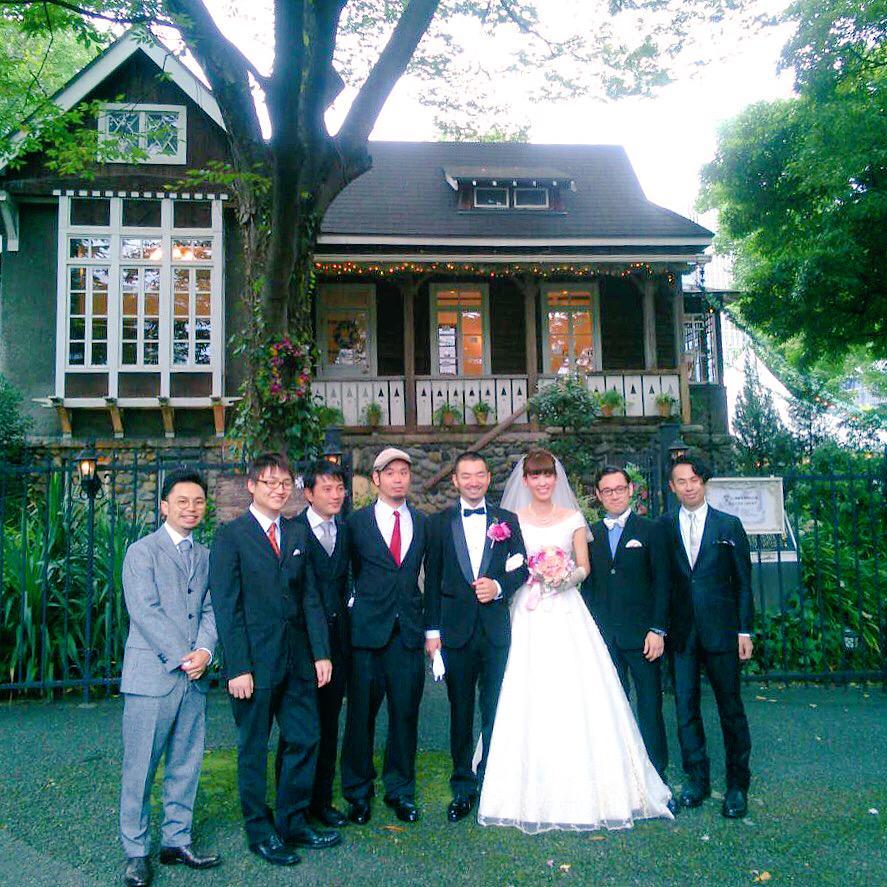 わたくし仰木亮彦は本日、日比谷公園にて結婚式を挙げました! http://t.co/GRNbuqbKZA