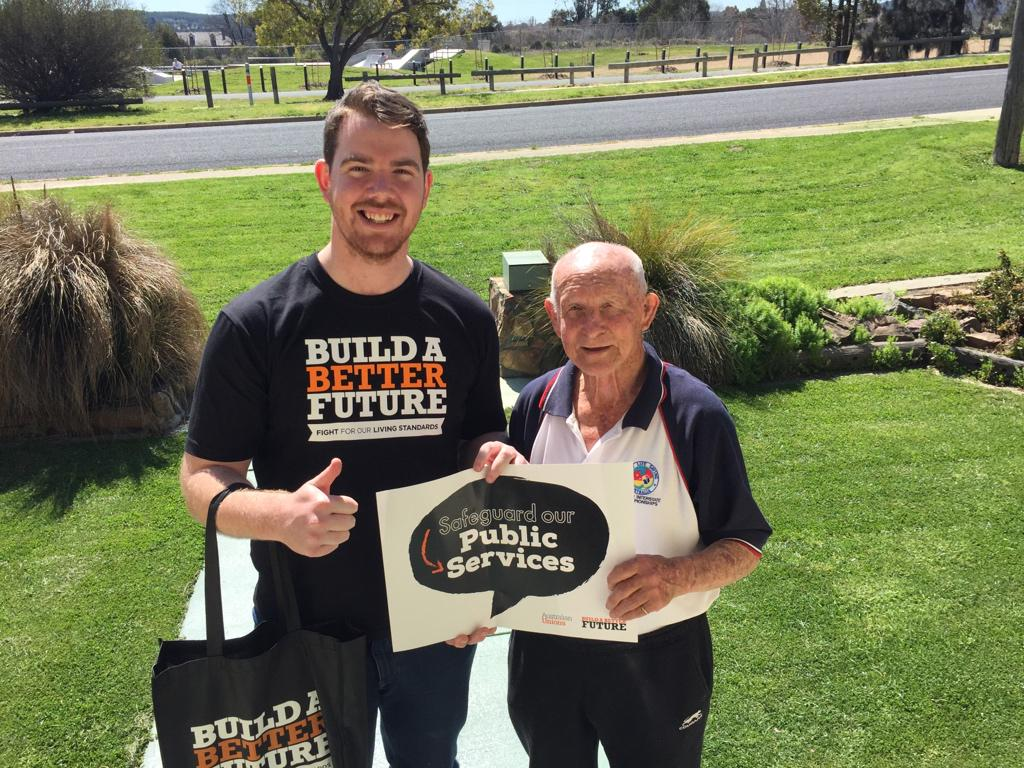 Queanbeyan residents want a #betterfuture #ausunions @UnionsACT @unionsaustralia http://t.co/aQZg5uBF6p