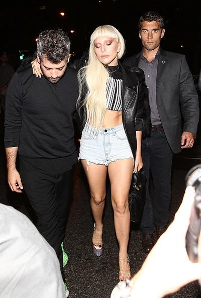Lady Gaga out in New York City tonight! http://t.co/0UqH4Ijqh7