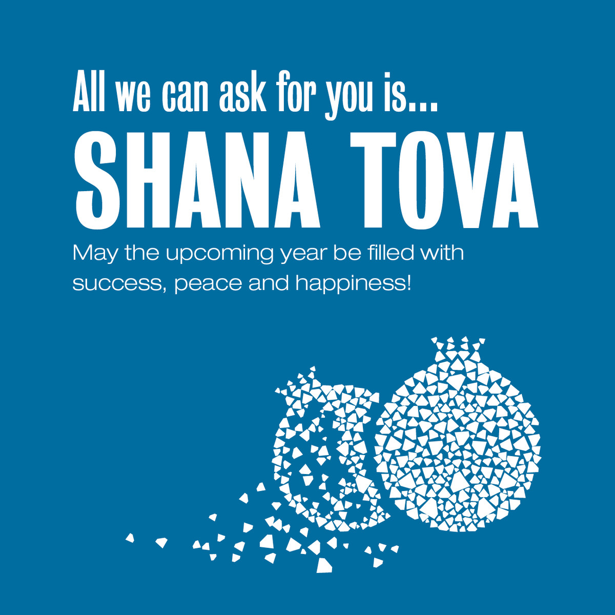 Idi Shows On Twitter To Honor Roshhashana The Jewish New Year We Would Like To Wish Everyone A Happy Healthy And Prosperous New Year