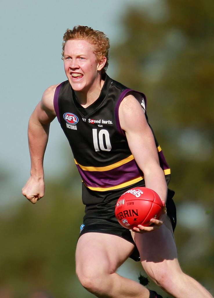 The 2015 #MorrishMedal winner from @MurrayBushiesFC is Clayton Oliver http://t.co/BQARma2OgG