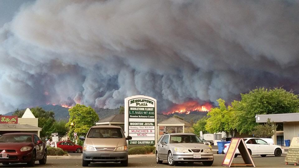 Unreal...  RT @Emergency_Life: #ValleyFire shortly before descent into #Middletown CA: reports largely destroyed. http://t.co/ZIbMPIn5uw