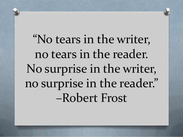 No tears writing