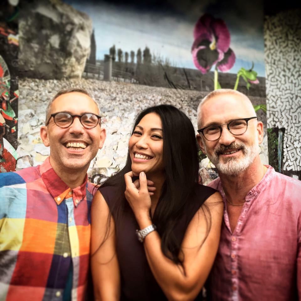 My Favourite photo from W/E with@jberreca @Anggun_Cipta for #JerkOffFestival #LesPenseesDePaul http://t.co/Z9R8BXiTNQ