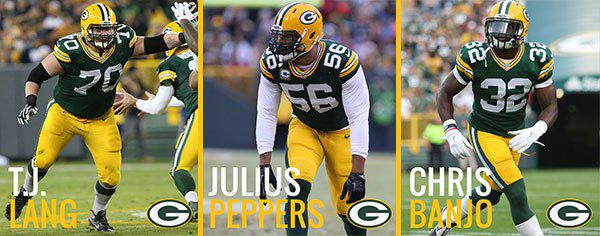 #Packers captains for the season opener: http://t.co/d9qSquytlp #GBvsCHI http://t.co/qD99IV680R