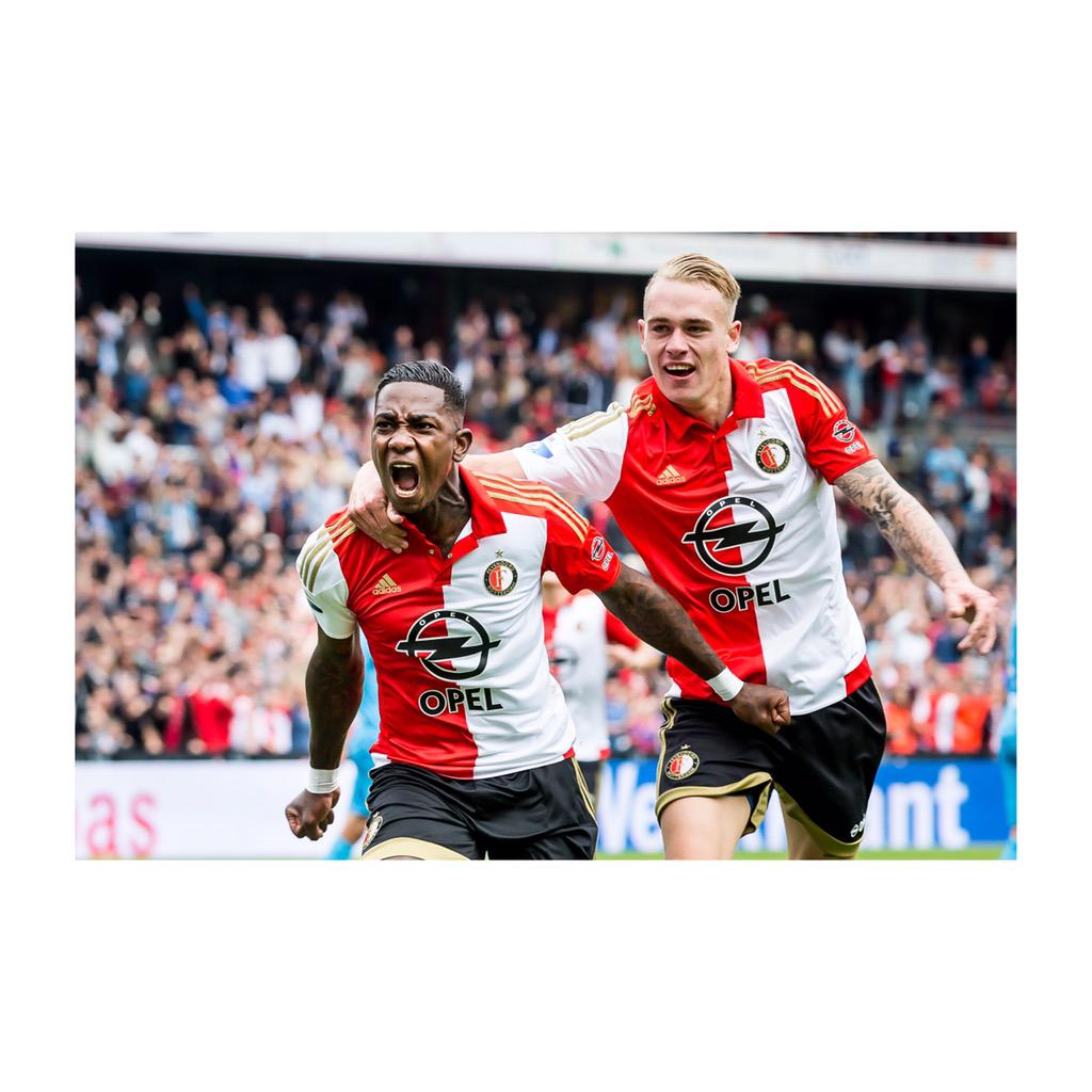 Happy with the 3 points! It was a great feeling to score my first goal for Feyenoord in De Kuip ⚽️=❤️ @Feyenoord http://t.co/q2pW9WJV2E