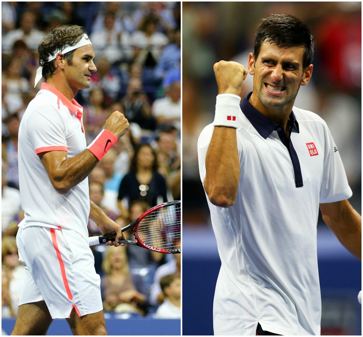 Who's ready for #FedvNole? RT if you think #Federer will win and Fav for #Djokovic. #usopen