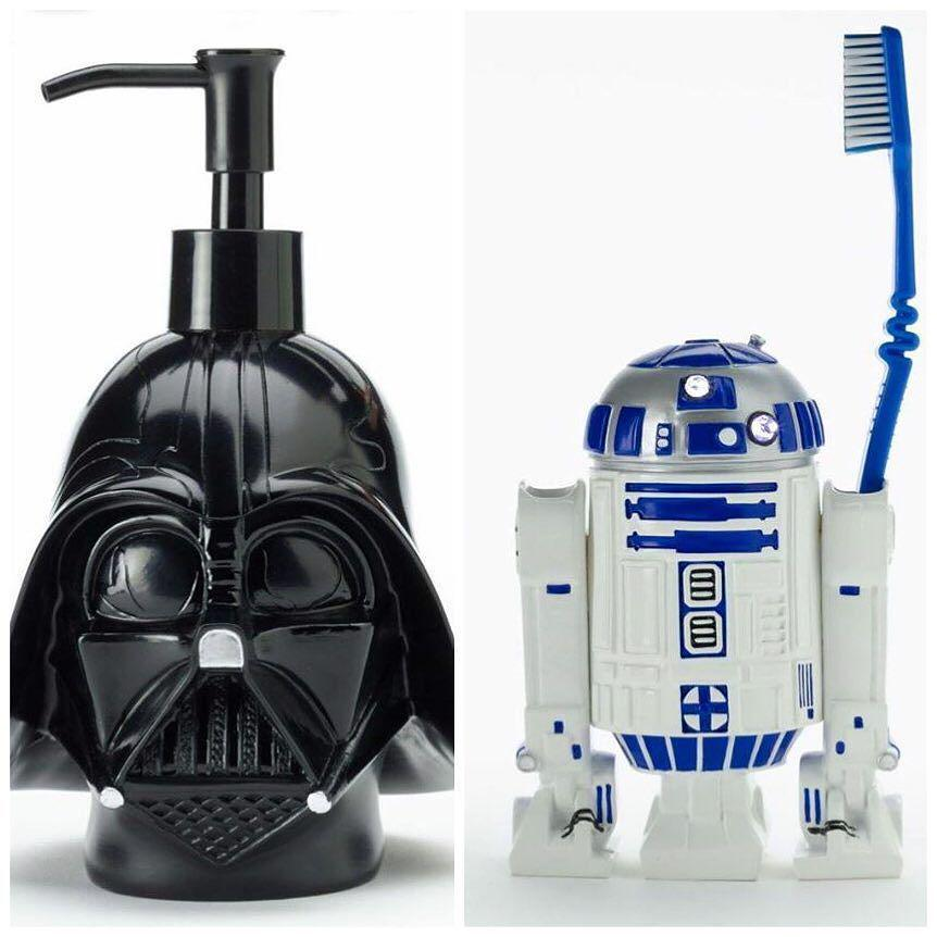 disneylifestylers on twitter star wars bathroom accessories from kohls disney starwars darthvader r2d2 kohls httptcoyojimgvzdm